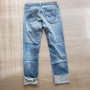 Ag Adriano Goldschmied Jeans - AG Adriano Goldschmied The Stevie Cuff Size 27